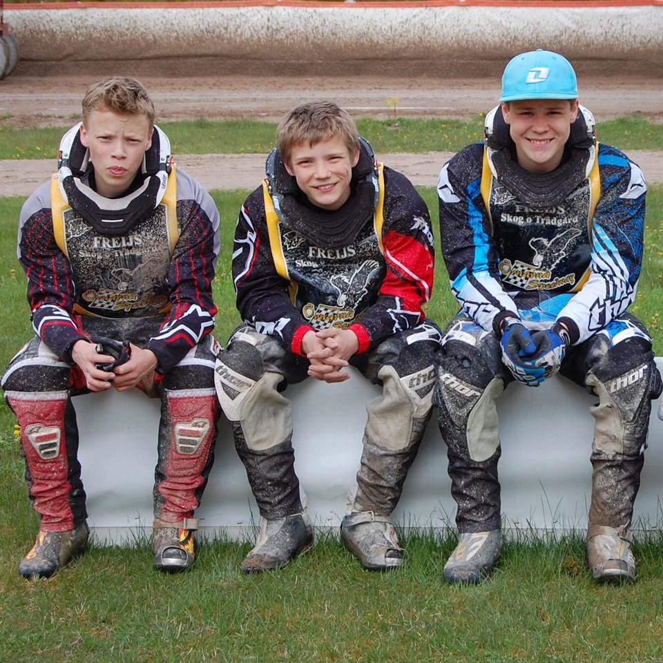 Tre Örnförare med till YGT (ungdoms VM)