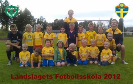 Landslagets Fotbollsskola 2012