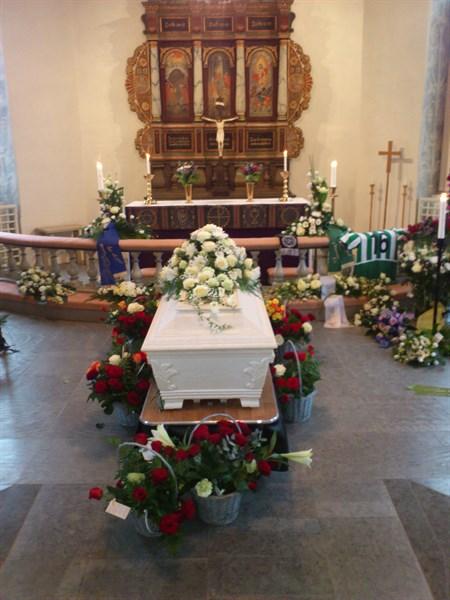 Viktors begravning