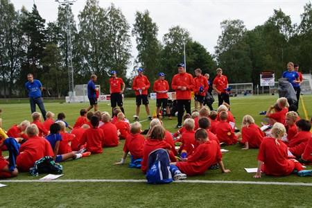 Liverpools fotbolls skola 2014, div bilder