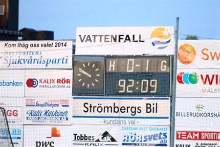 IFK-Luleå FF 0 - 1 2014