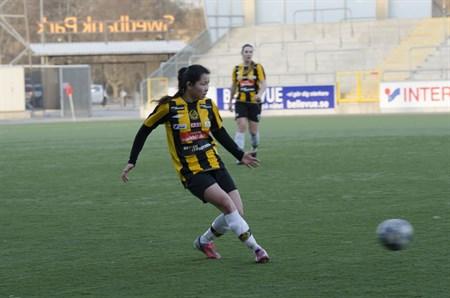 Träningsmatch 2015 VIK-FCD Foto:Matilda Erlandsson
