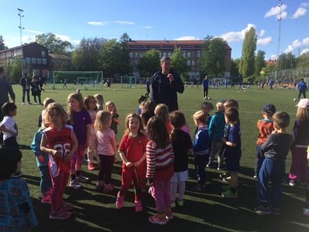 Fotbolllsskola maj- 2015