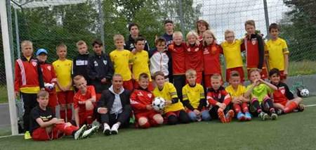 Fotbollsskolan 2015